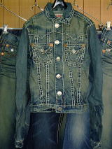 TRUE RELIGION JIMMY SUPER T STYLE:24900NBT2J COLOR:DUSTY TRAIL 100%COTTON ASSEMBLED IN MEXICO OF U.S. COMPONENTS