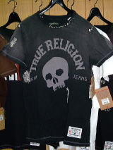 TRUE RELIGION T SHIRT TRUE RELIGION STYLE M648036DI COLOR BLACK SS CREWNECK TEE 100%COTTON MADE IN CHINA
