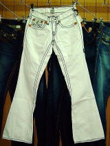 TRUE RELIGION JOEY SUPER T STYLE:24803MT2J COLOR:08-BLCHD MADE IN USA 100%COTTON