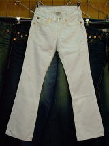 TRUE RELIGION RAINBOW BILLY BIG T STYLE 28858SM COLOR 1H WHT ZUMA W MADE IN U.S.A. 100%COTTON