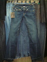 TRUE RELIGION 503 JOEY STYLE# 10503 WASH CODE:04 MED HAND SAND 99%COTTON 1%ELASTIC MADE IN U.S.A.