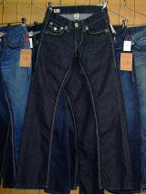 TRUE RELIGION BILLY SUPER QT MEN STYLE:M24858BQT3 COLOR:BZ-INGLORIOUR MADE IN U.S.A. 100%COTTON