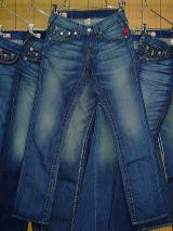 TRUE RELIGION RICKY STRAIGHT LEG STYLE:24859OMBBV COLOR:HAM-INDUSTRIAL MADE IN U.S.A. 100%COTTON